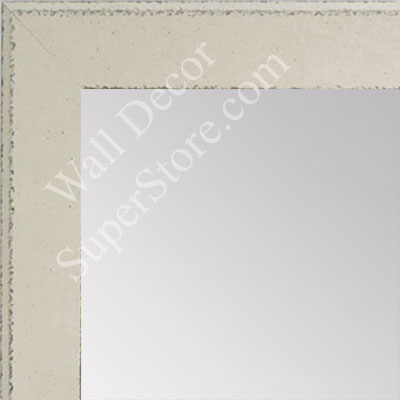 MR1570-1 Distressed White - Medium Custom Wall Mirror Custom Floor Mirror