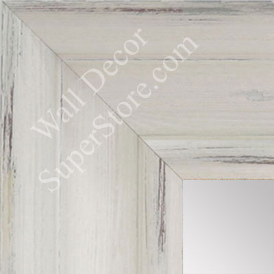 MR1571-1 Distressed Soft White - Extra Extra Large Custom Wall Mirror Custom Floor Mirror