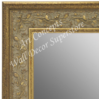 MR1680-1 | Gold | Custom Wall Mirror