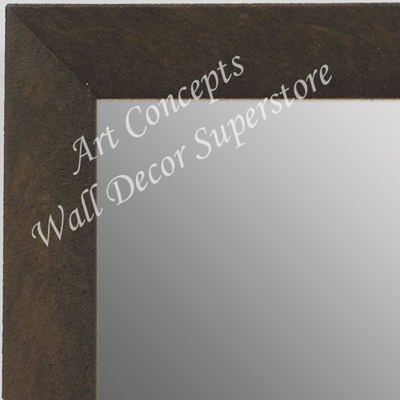 MR1684-2 | Distressed Brown | Custom Wall Mirror