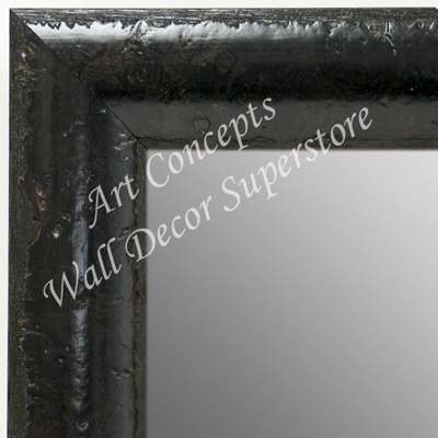 MR1693-2 | Black Burl Moulding | Custom Wall Mirror | Decorative Framed Mirrors | Wall D�cor