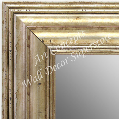 Mr1704 4 Distressed Silver Extra Extra Large Custom Wall