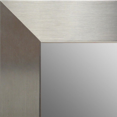 MR1708-4 | Stainless Steel Look - Mica Finish - Moulding | Custom Wall Mirror | Decorative Framed Mirrors | Wall D�cor