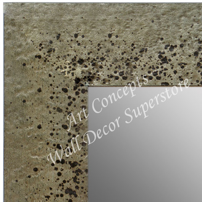 MR1729-1 | Distressed - Silver Stone Look - Moulding | Custom Wall Mirror | Decorative Framed Mirrors | Wall D�cor