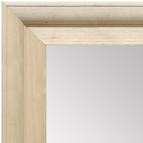MR1760-1 | Unfinished Wood Frame | Unfinished Natural Wood Moulding - Paint or Stain | Custom Wall Mirror