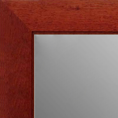 MR1845-3 Cherry - Value Price  - Medium Custom Wall Mirror Custom Floor Mirror