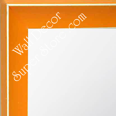 MR210-3  Orange - Small Custom Wall Mirror