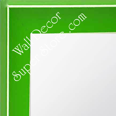 MR210-6  Green - Small Custom Wall Mirror