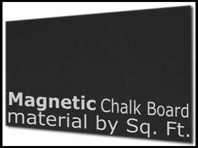 MT106 Magnetic Chalk Board Material by the SQ FOOT