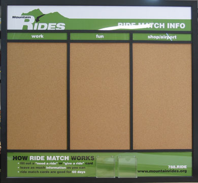 Custom Information Cork Boards Job Project Boards