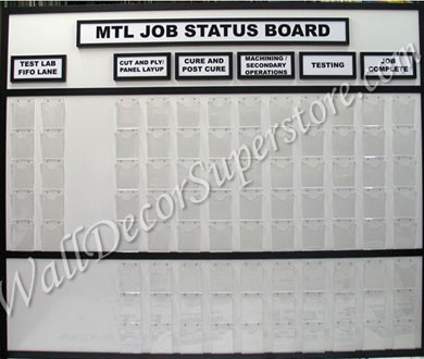 Custom Job Status Board